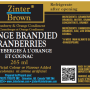 Orange Brandied Cranberries