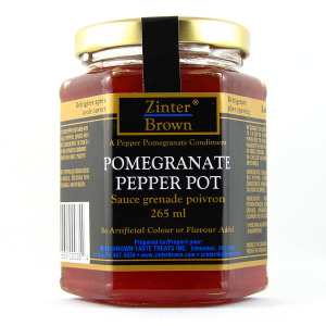 ZB Pomegranate Pepper Pot