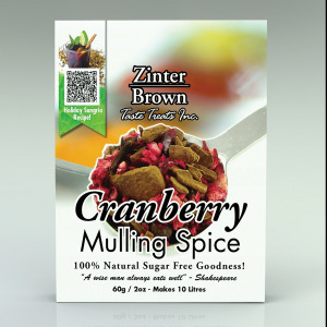 ZB cranberry mulling spice