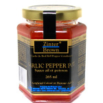 Zinter Brown Garlic Pepper Pot