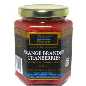 Zinter Brown  Orange Brandied Cranberries