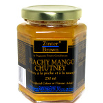 Zinter Brown  Peachy Mango Chutney