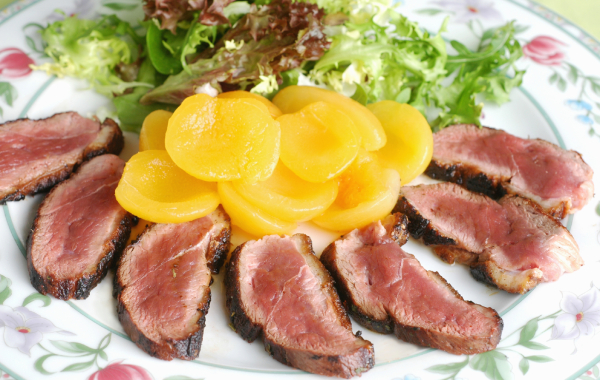 Duck Breast Salad Recipe