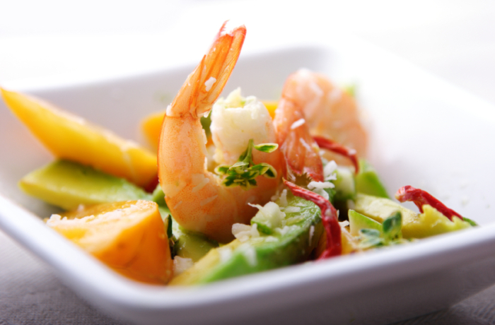 Prawn & Avocado Salad Recipe